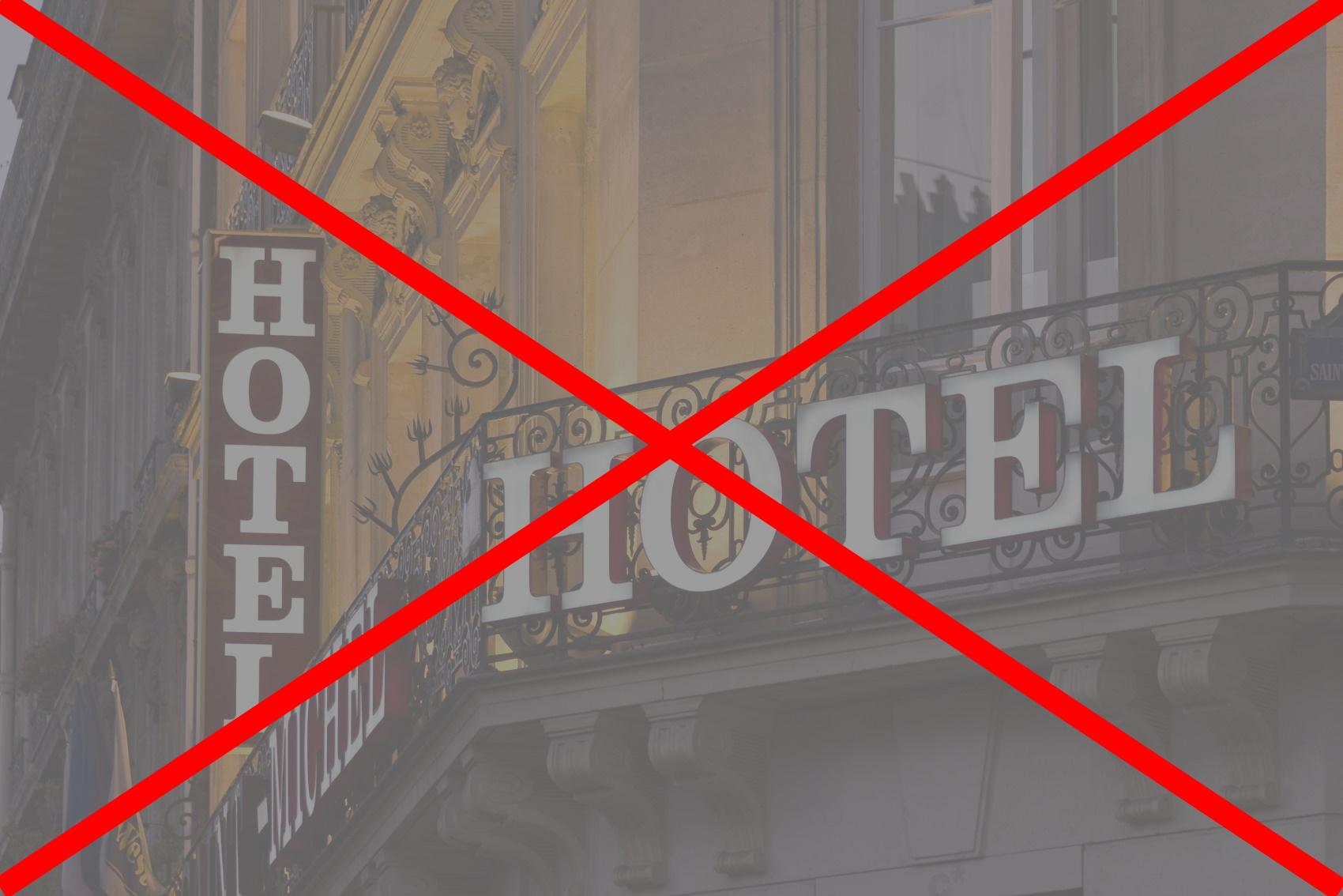 Rząd przedłużył zamknięcie hoteli!