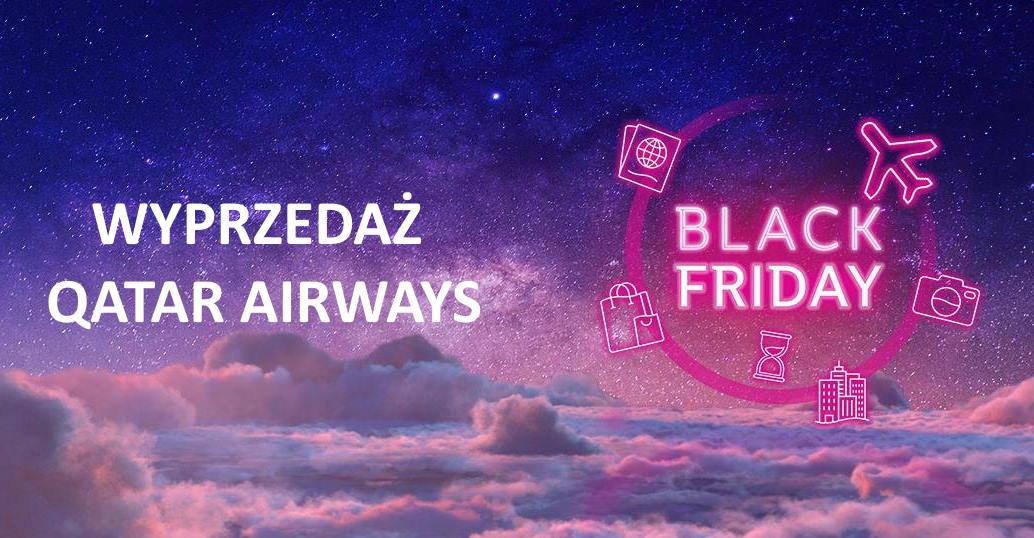 PRZEGLĄD PROMOCJI: czarnopiątkowa wyprzedaż Qatar Airways do 2 grudnia