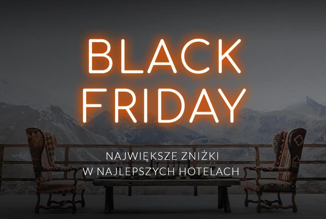 Czarny Piątek – trwa Black Week w Travelist. Dodatkowe zniżki na noclegi!