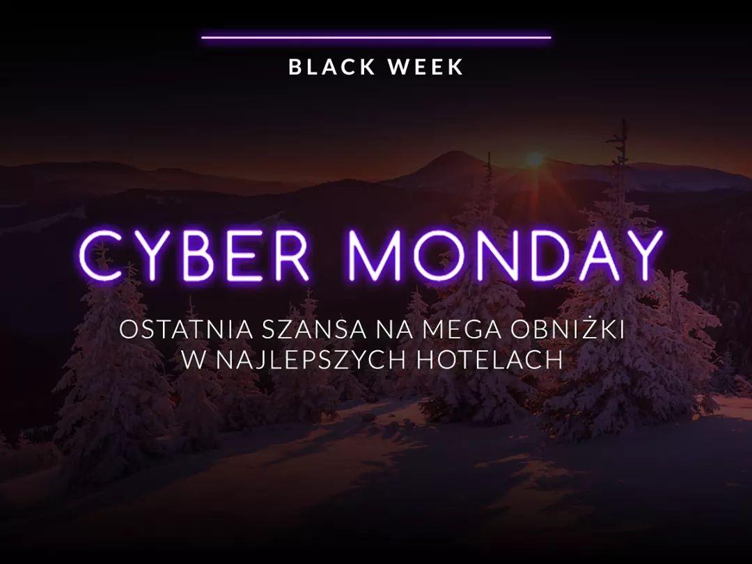 """""""Cyber poniedziałek"""" = ostatni dzień noclegowej promocji"""