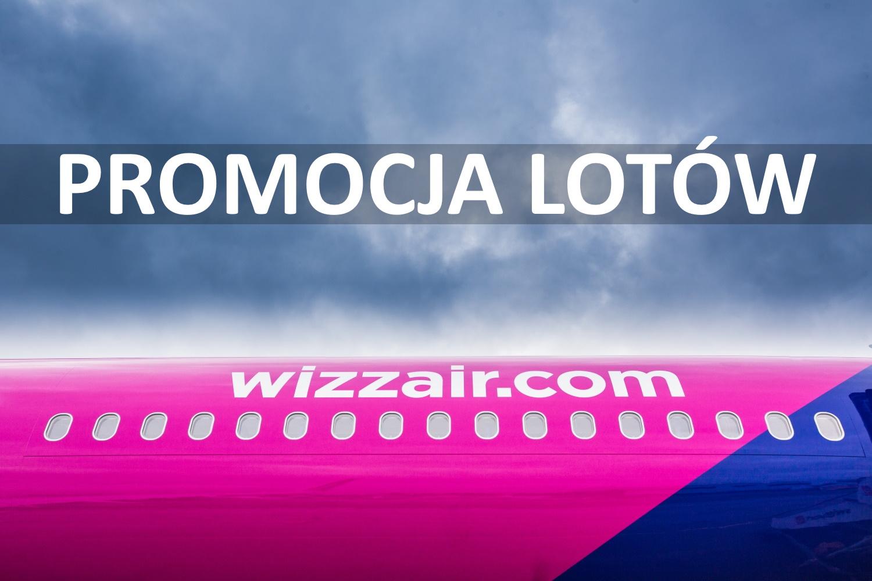 Dwudniowa wyprzedaż Wizz Air. Obniżka ceny wielu lotów!