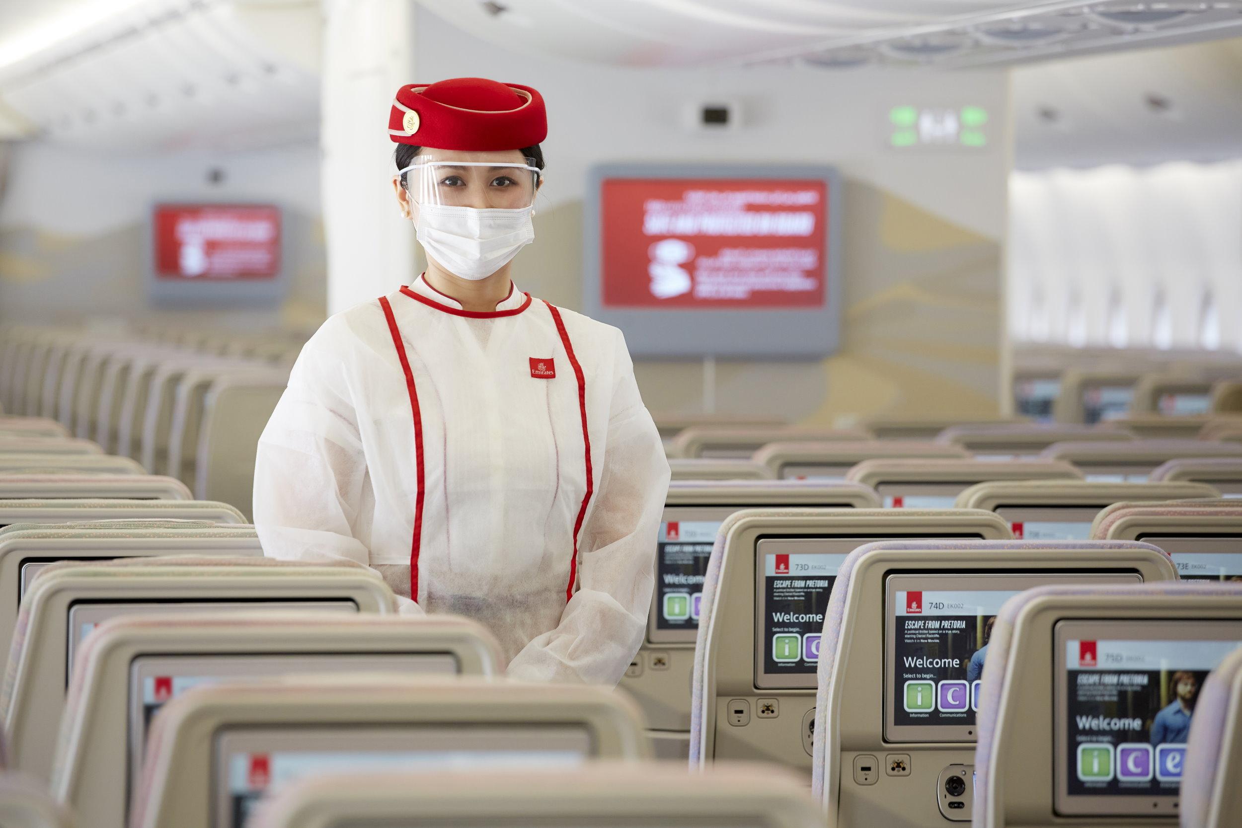 Specjalny lot Emirates… tylko dla zaszczepionych!