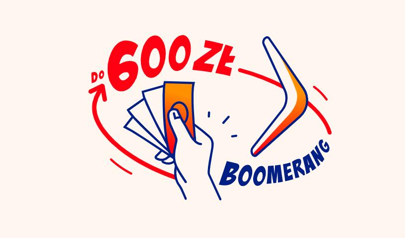 Akcja BOOMerang także w styczniu. Zgarnij do 600 PLN!