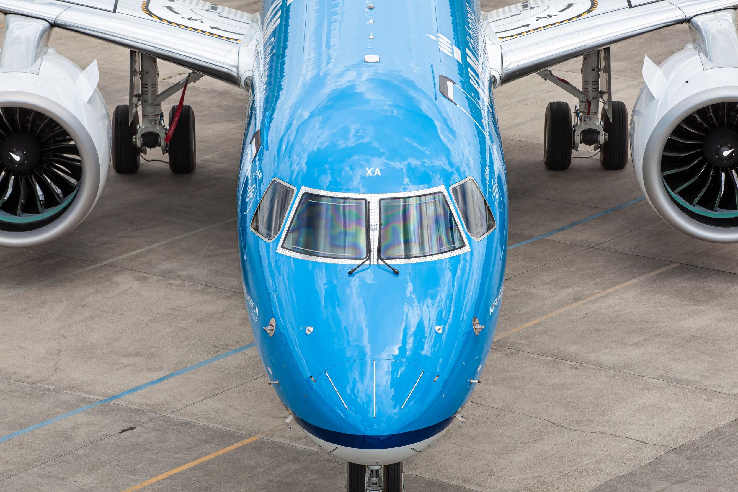 Najnowszy samolot we flocie KLM – Embraer 195-E2 przyleci do Warszawy
