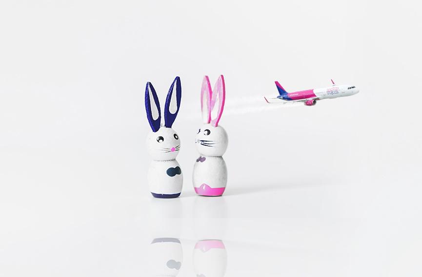 Wielkanoc w Wizz Air: 20% zniżki na wybrane loty