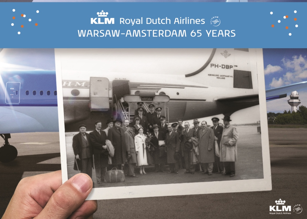KLM od 65 lat w Polsce – informacje