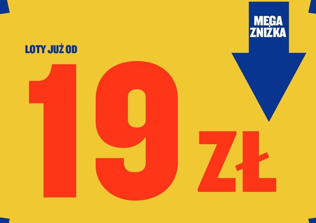 MEGA wyprzedaż lotów Ryanair – dziesiątki tras już od 19 PLN! Włochy, Ukraina, Jordania i inne