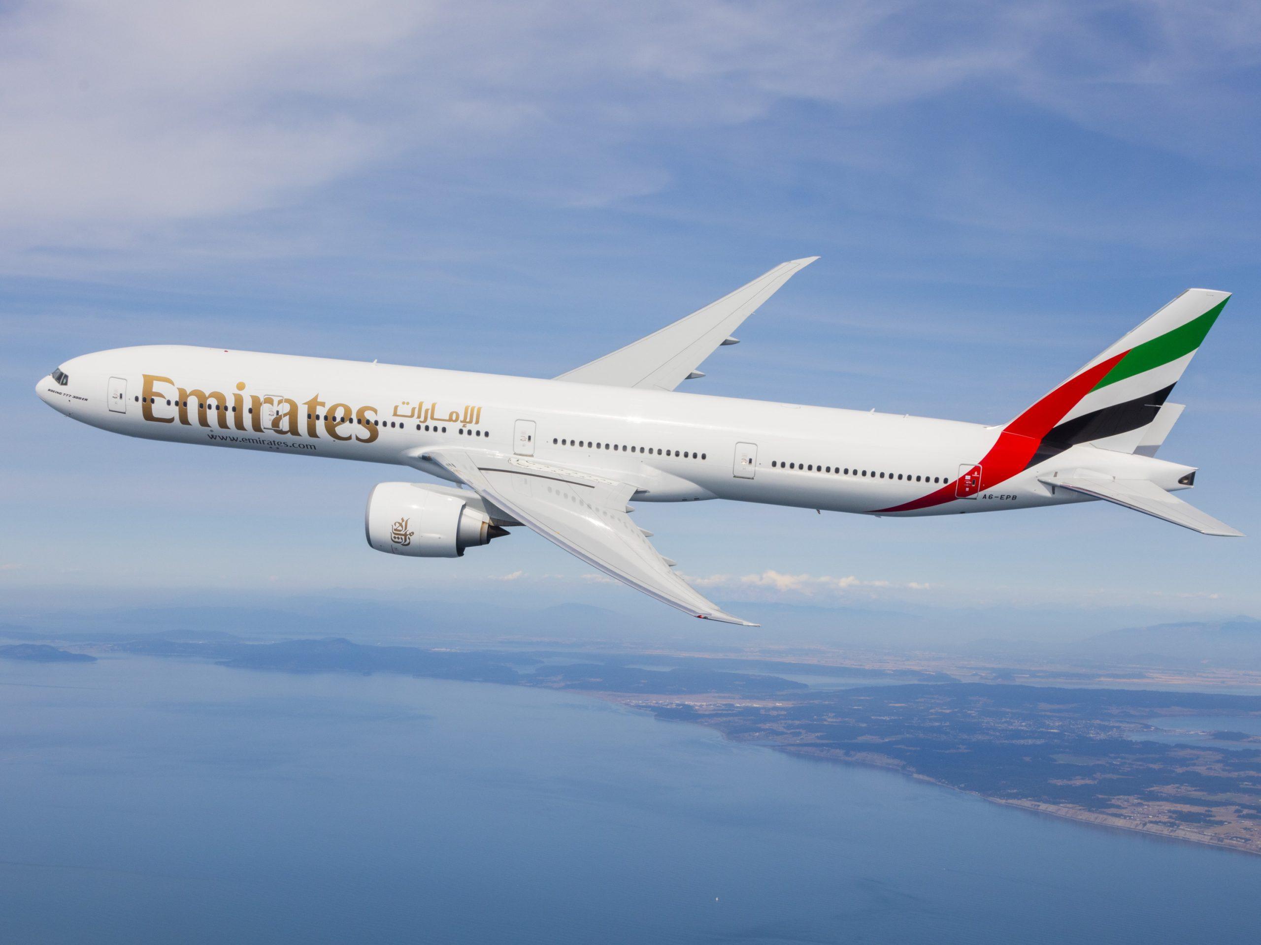 Linie Emirates zwiększają częstotliwość lotów do Polski