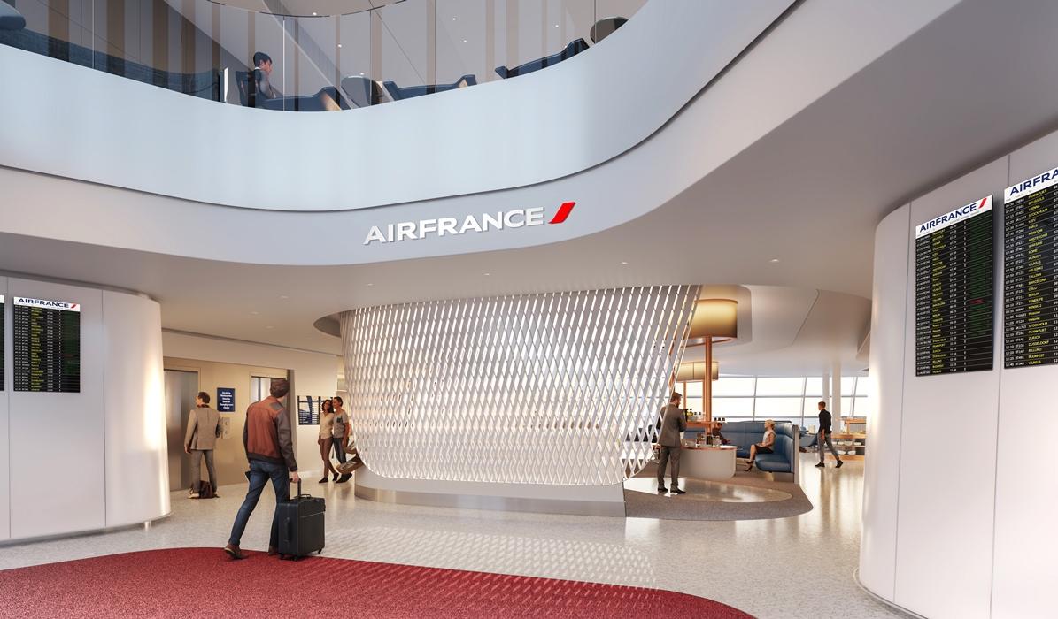 Linie Air France otworzyły nowy salon lotniskowy