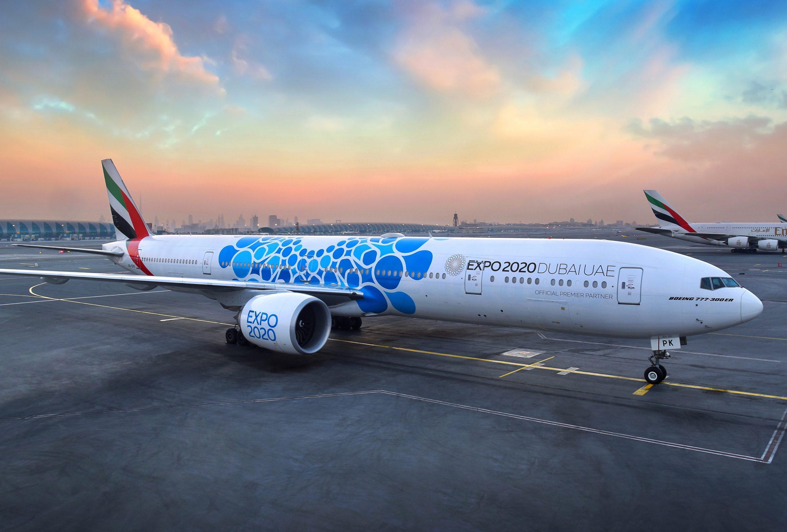 Darmowy bilet na EXPO 2020 dla pasażerów Emirates