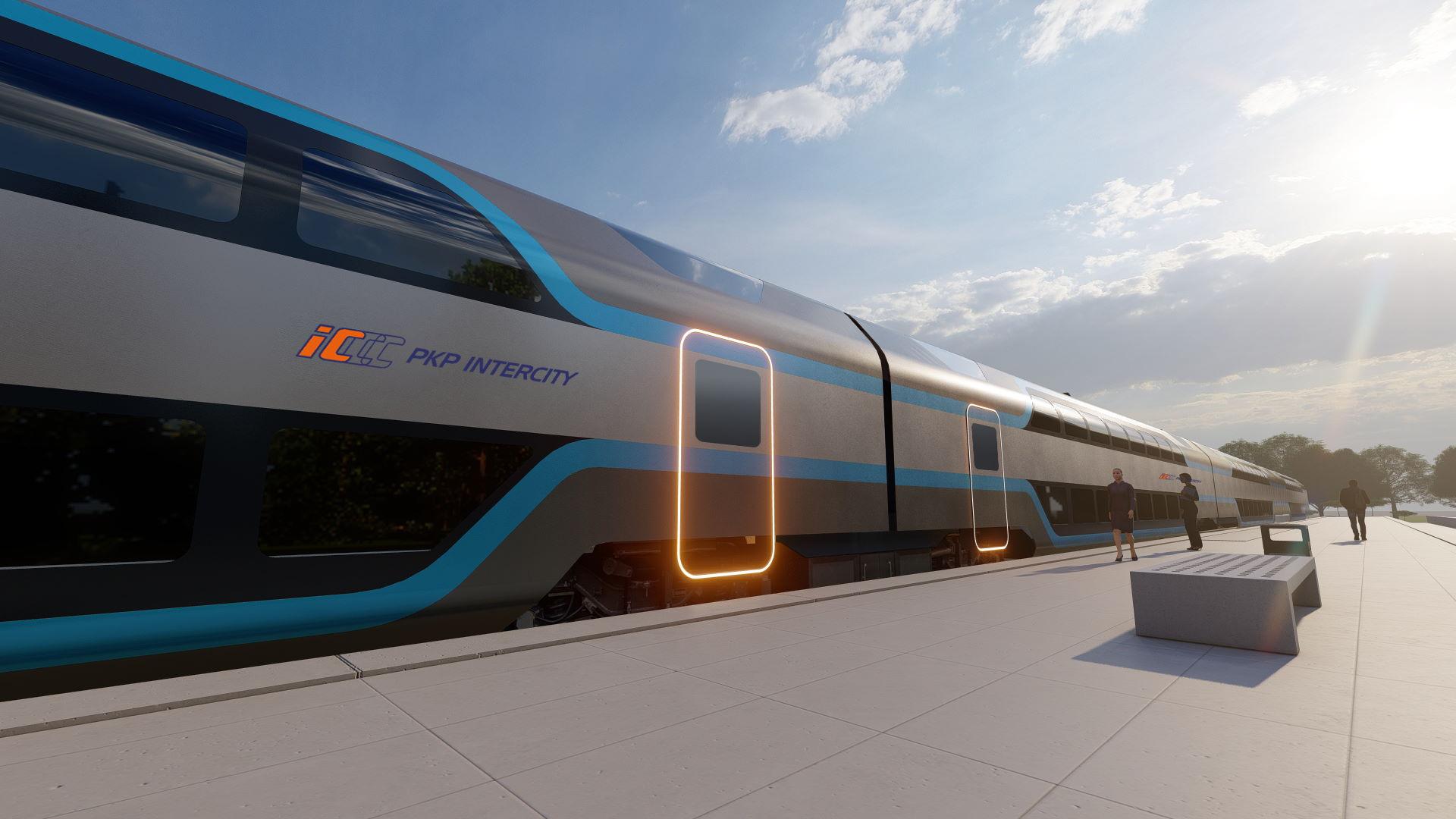 PKP Intercity pracuje nad nowym konceptem nowoczesnych pociągów