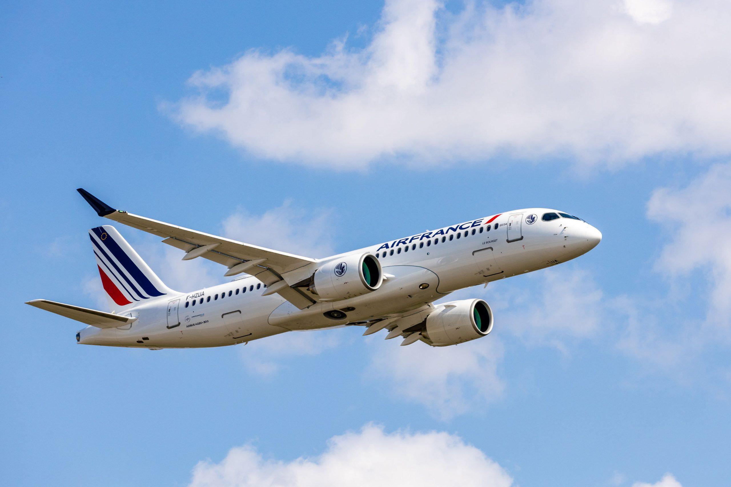 Air France prezentuje swój najnowszy samolot
